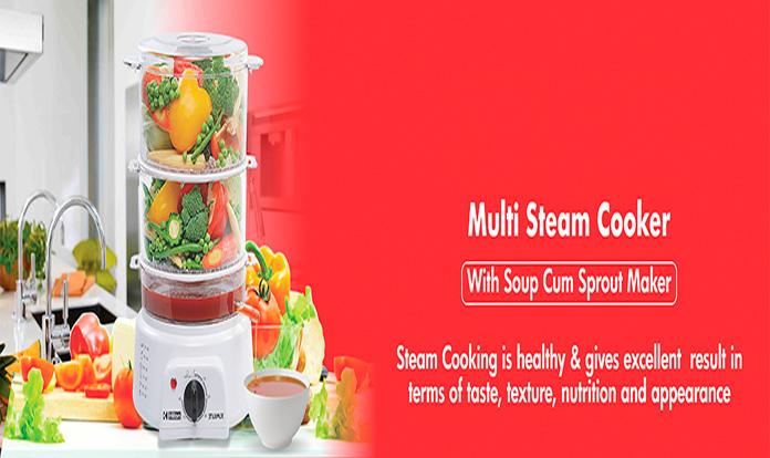 Hilton multi steam cooker