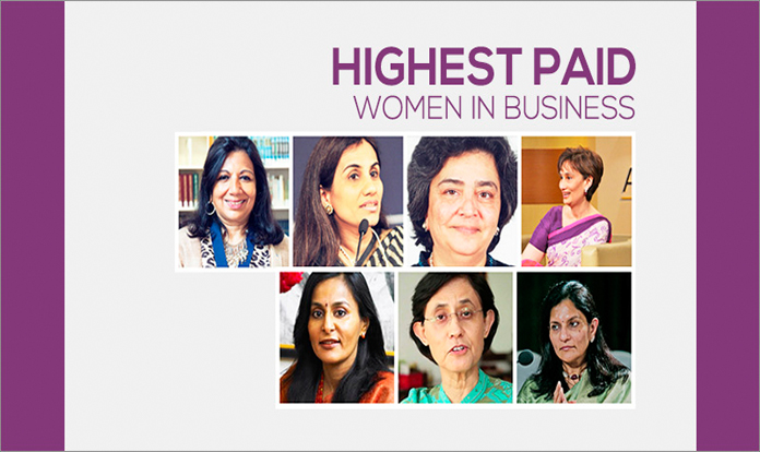 highest salaried women