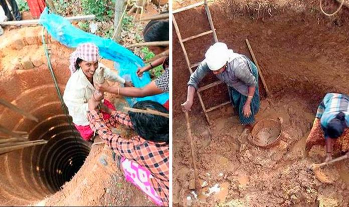 Digging deep wells