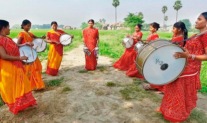 The Nari Gunjan Sargam Mahila Band