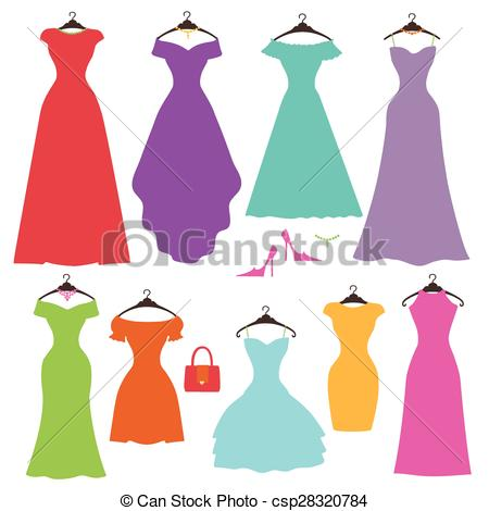silhouette-colorful-womens-dress-eps-vector_csp28320784