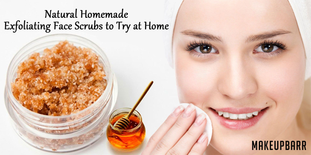 Natural Homemade Exfoliating Face Scrubs to Try at Home