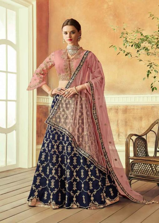 Blue-Color-Taffeta-Silk-Embroidered-Work-Lehenga-Choli-510x714