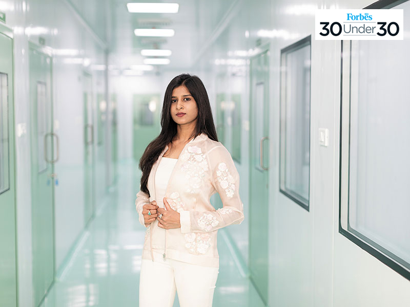 Keerthi Reddy Kotta, Co Founder and COO of StaTwig, photographed in Hyderabad.