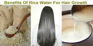 rice water for hair