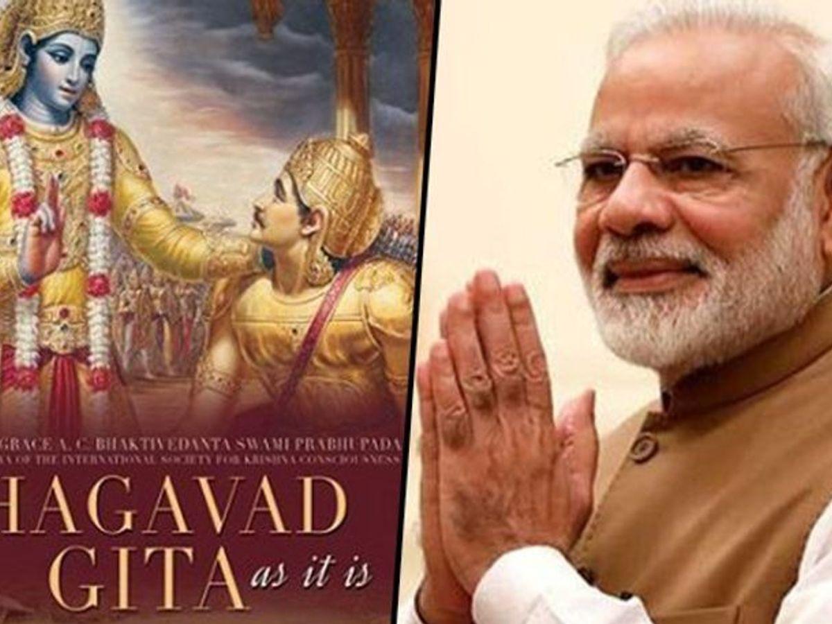 satellite to carry Bhagavad Gita, PM Modi's photo
