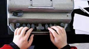 braille type writer